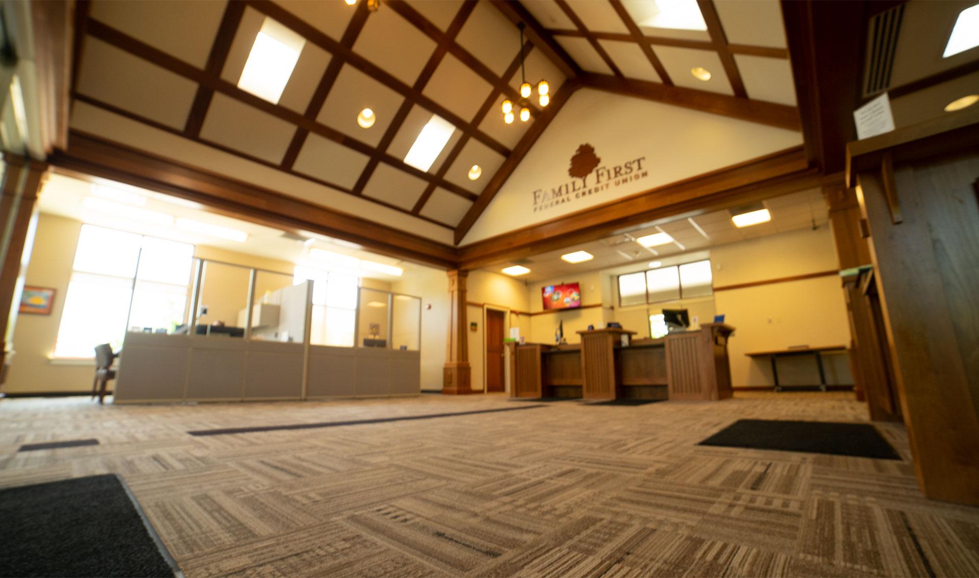 east rochester branch interior